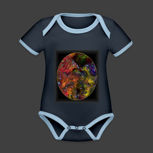 Who will arrive first - Organic Baby Contrasting Bodysuit