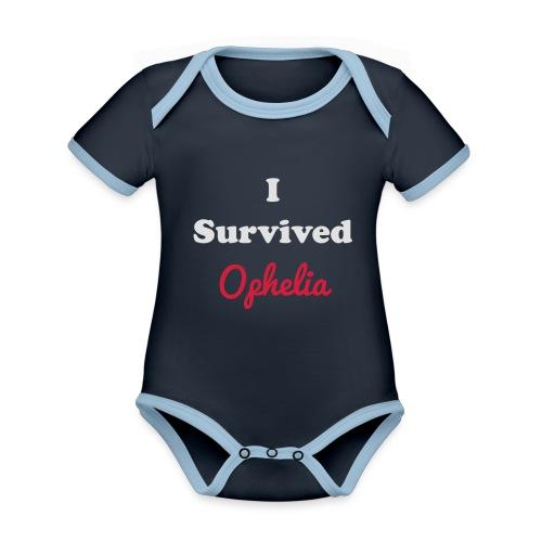 IsurvivedOpheliaWhitered - Organic Baby Contrasting Bodysuit