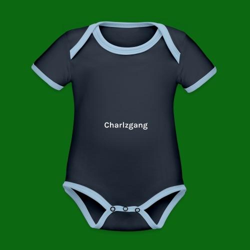 Charlzgang - Organic Baby Contrasting Bodysuit