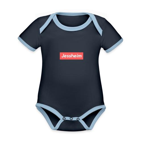 Jessheim - Økologisk kortermet kontrast-babybody