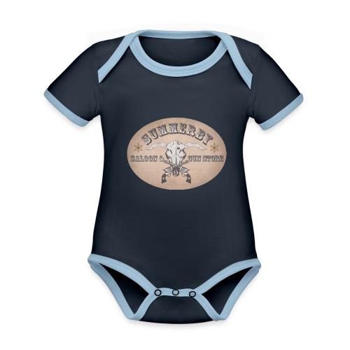 Summerby Saloon - Baby Bio-Kurzarm-Kontrastbody