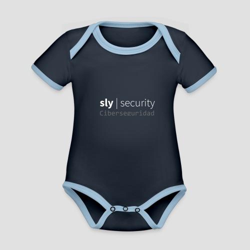 Sly Security | Ciberseguridad - Body contraste para bebé de tejido orgánico