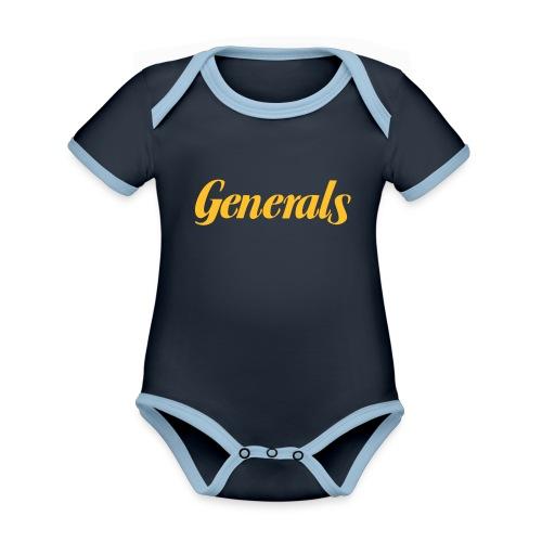 Generals - Baby Bio-Kurzarm-Kontrastbody