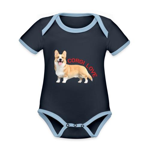 CorgiLove - Organic Baby Contrasting Bodysuit