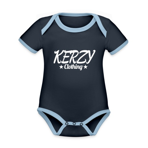 Official KerzyClothing T-Shirt - Organic Baby Contrasting Bodysuit