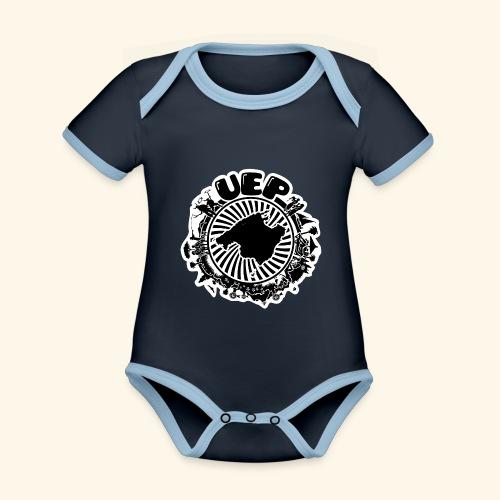 UEP white background - Organic Baby Contrasting Bodysuit