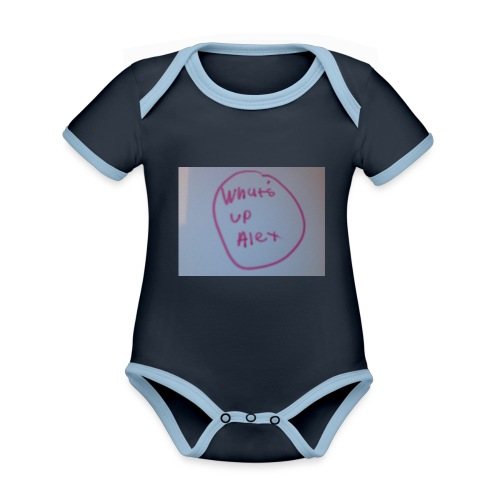 image - Organic Baby Contrasting Bodysuit