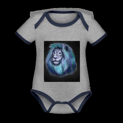lio1 - Organic Baby Contrasting Bodysuit