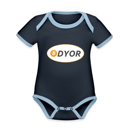 DYOR - option 2 - Organic Baby Contrasting Bodysuit