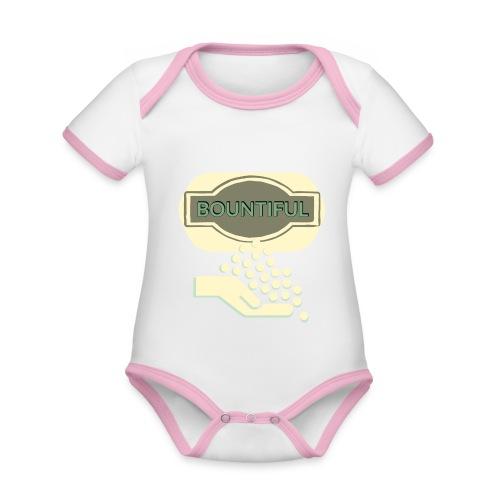 Bontifull - Organic Baby Contrasting Bodysuit