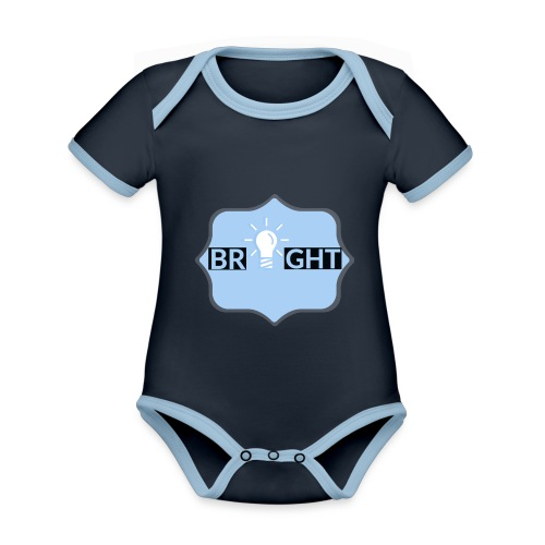 Bright - Organic Baby Contrasting Bodysuit