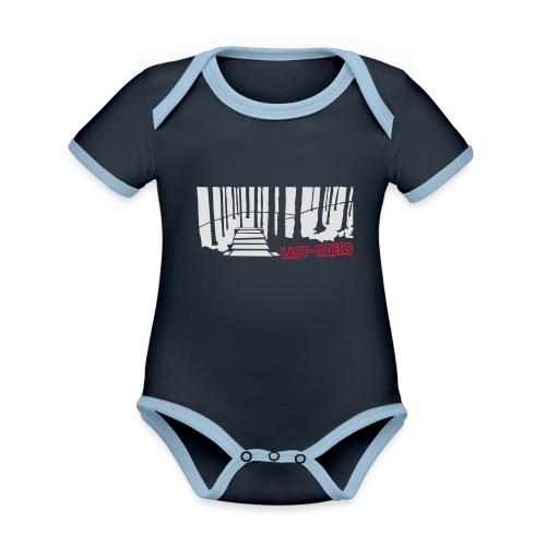 Northshore - Baby Bio-Kurzarm-Kontrastbody