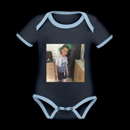 IMG 0463 - Organic Baby Contrasting Bodysuit