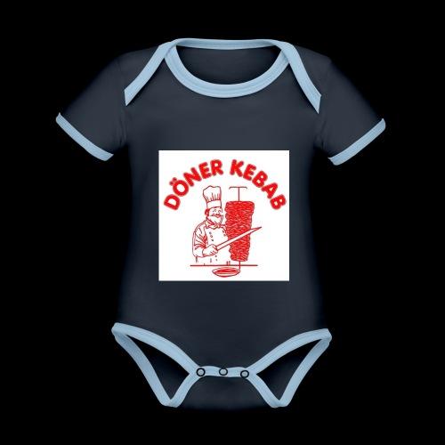 Doner Kebab - Organic Baby Contrasting Bodysuit