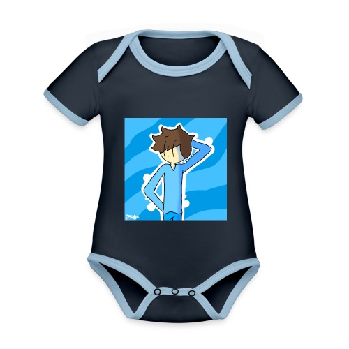 George Morgan West - Organic Baby Contrasting Bodysuit