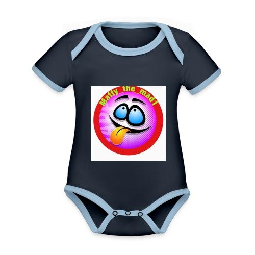 5D14BC46 196E 4AF6 ACB3 CE0B980EF8D6 - Organic Baby Contrasting Bodysuit