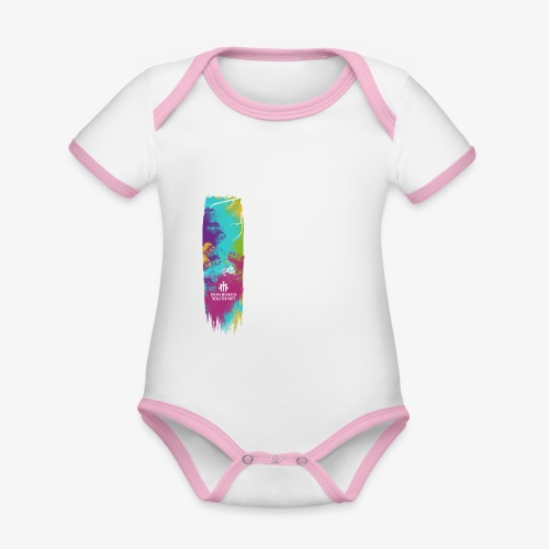 Leave a mark - Organic Baby Contrasting Bodysuit