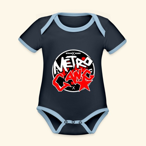 METRO GANG LIFESTYLE - Organic Baby Contrasting Bodysuit