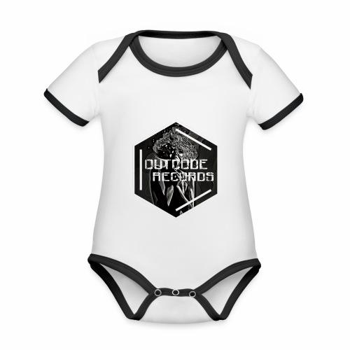 Outcode Records Art - Body contraste para bebé de tejido orgánico