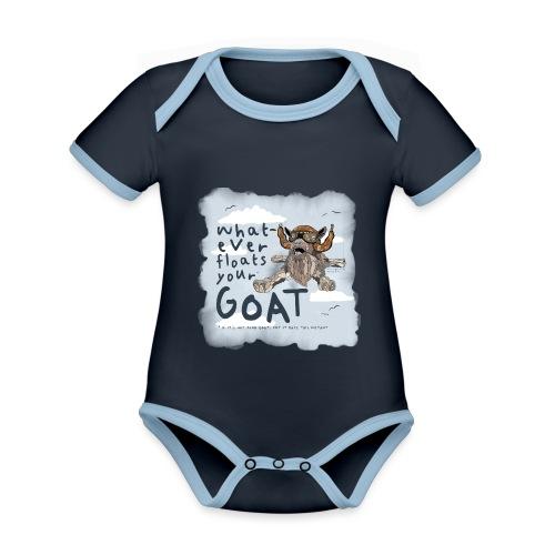 #2 - Sky Dive - Organic Baby Contrasting Bodysuit