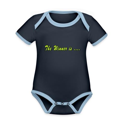 xts0169 - Body Bébé bio contrasté manches courtes