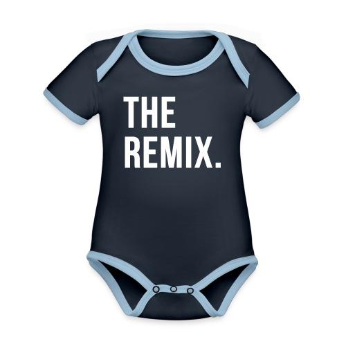 The Remix Eltern Kind Partnerlook - Baby Bio-Kurzarm-Kontrastbody
