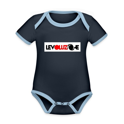 logoHD - Organic Baby Contrasting Bodysuit