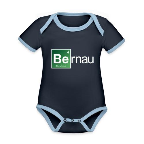 Be - Beryllium- Bernau - Baby Bio-Kurzarm-Kontrastbody