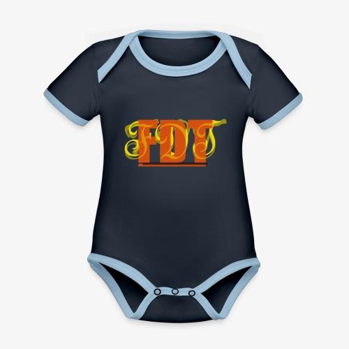 FDT - Organic Baby Contrasting Bodysuit