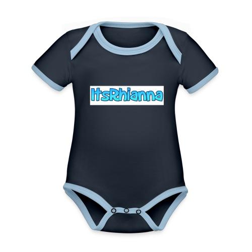 Merch - Organic Baby Contrasting Bodysuit