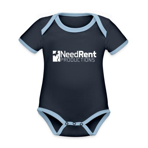 NeedRent Produktions - Kortærmet økologisk babybody i kontrastfarver