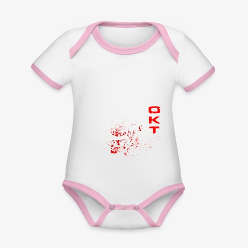 Outkasts Scum OKT Front - Organic Baby Contrasting Bodysuit