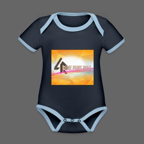 lpr mousepad png - Organic Baby Contrasting Bodysuit