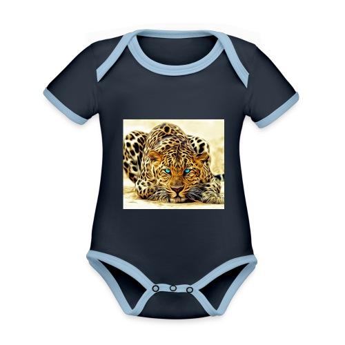 IL SIMBOLO DEL CANALE - Body da neonato a manica corta, ecologico e in contrasto cromatico