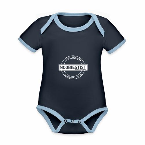 NOOBIEST - Organic Baby Contrasting Bodysuit