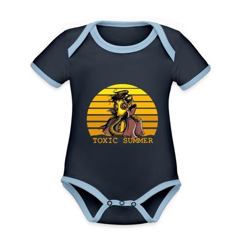 Toxic Summer - Body contraste para bebé de tejido orgánico
