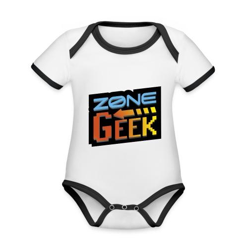 NEW Logo T-Shirt Femme - Body Bébé bio contrasté manches courtes