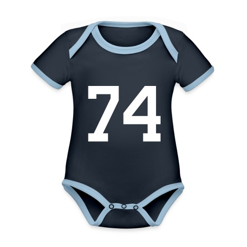 74 SPITZER Julian - Baby Bio-Kurzarm-Kontrastbody