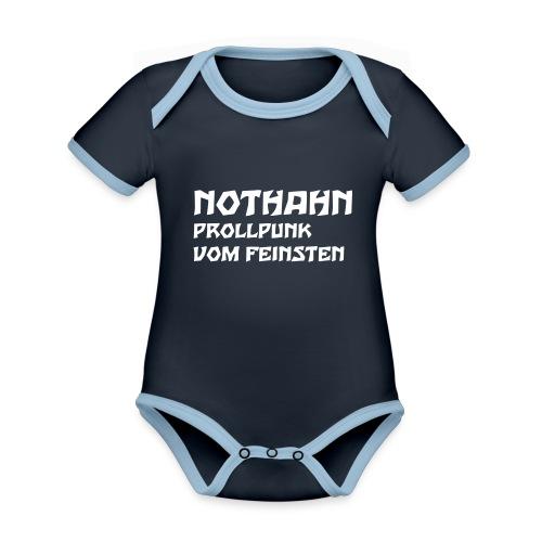 vorne - Baby Bio-Kurzarm-Kontrastbody