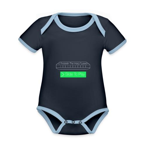 The Harp Queen T Shirt for men - Organic Baby Contrasting Bodysuit