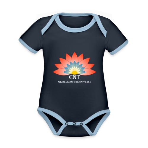 Support Renewable Energy with CNT to live green! - Organic Baby Contrasting Bodysuit
