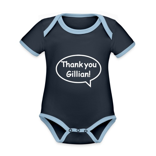 Bubble Gillian - Organic Baby Contrasting Bodysuit