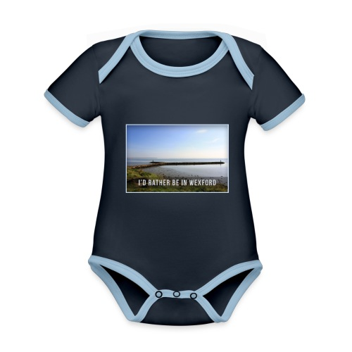 Rather be in Wexford - Organic Baby Contrasting Bodysuit