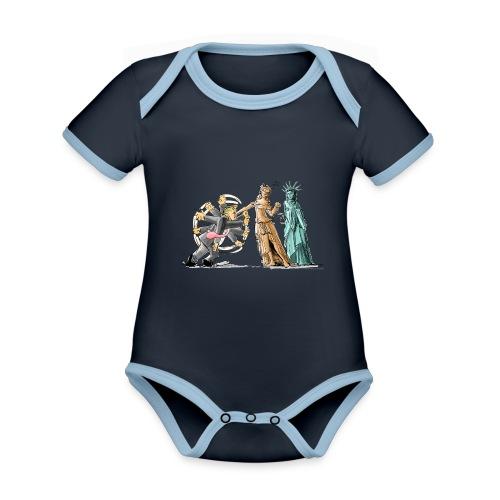 I Got This - Organic Baby Contrasting Bodysuit