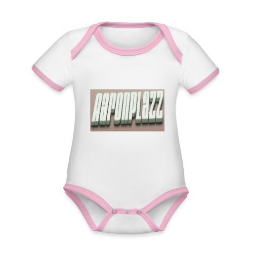 Aaronplazz - Organic Baby Contrasting Bodysuit