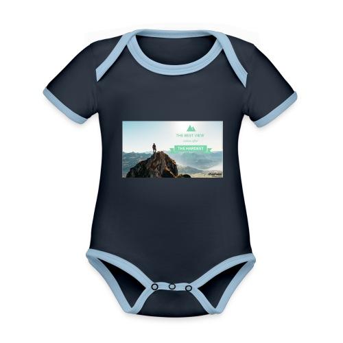 fbdjfgjf - Organic Baby Contrasting Bodysuit