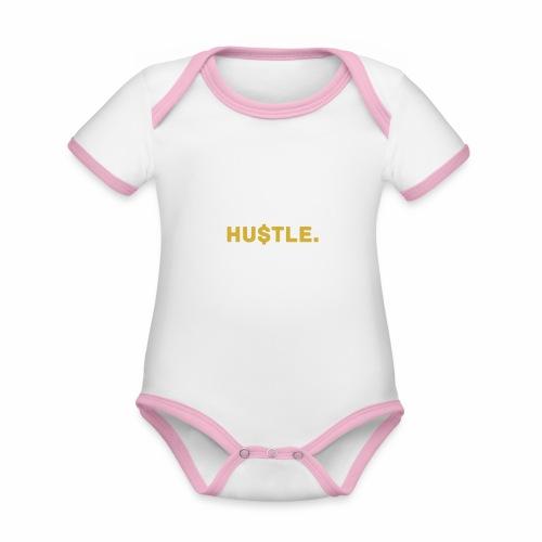 Millionaire. X HU $ TLE - Organic Baby Contrasting Bodysuit