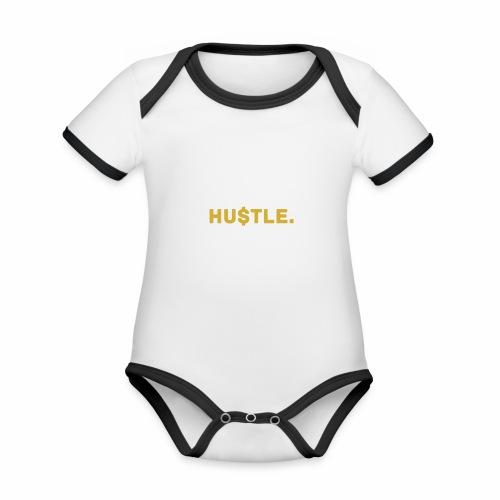 Millionaire. X HU $ TLE - Organic Baby Contrasting Bodysuit