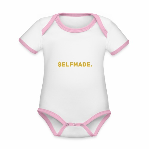 Millionaire. X $ elfmade. - Organic Baby Contrasting Bodysuit