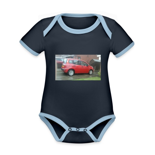 AWESOME MOVIES MARCH 1 - Organic Baby Contrasting Bodysuit